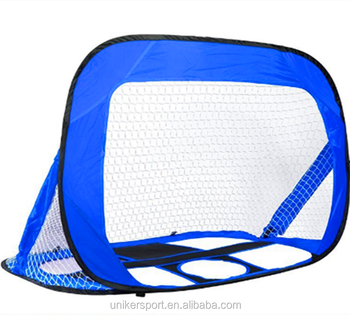 Pop Up Soccer Goal   Two Portable Soccer Nets With Carry Bag   Sizes 2.5u0027