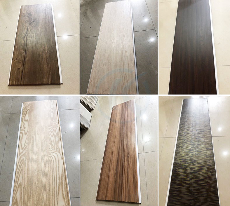 Best Price High Quality Decorative Fireproof Plastic Wooden Laminated PVC Wall Panels