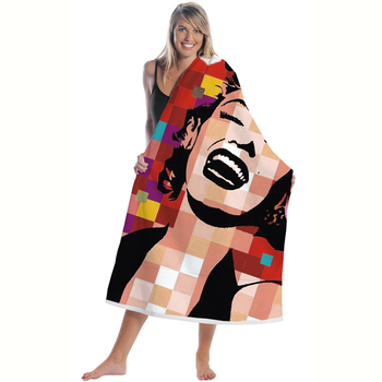 Microfine Oversized Quick Dry Towel Microfiber Beach &Travel Towel