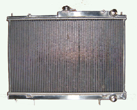 Full-aluminum radiator for 90-93 HONDA ACCORD/92-96 PRELUDE F22B MT