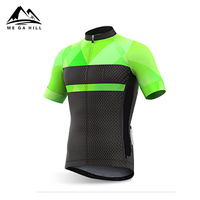 Breathable bike shirt short sleeve cycling jersey clothes sale for riding mens