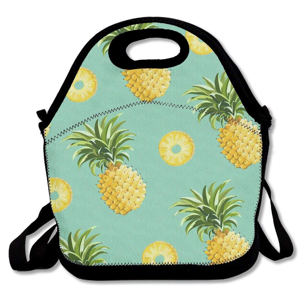 f228d02d7200 Buy Pineapple Background Lunch Box Bag For Kids And Adult,lunch Tote ...