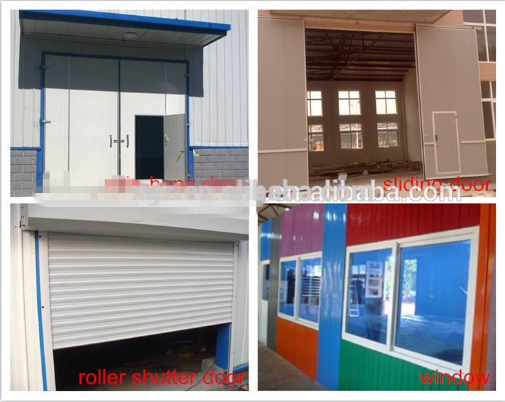 High Quality metal building materials for workshops
