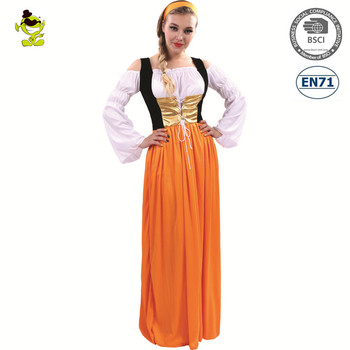 Carnival Party bavarian oktoberfest beer maid costume sexy women peasant dress  sc 1 st  Alibaba & Carnival Party Bavarian Oktoberfest Beer Maid Costume Sexy Women ...