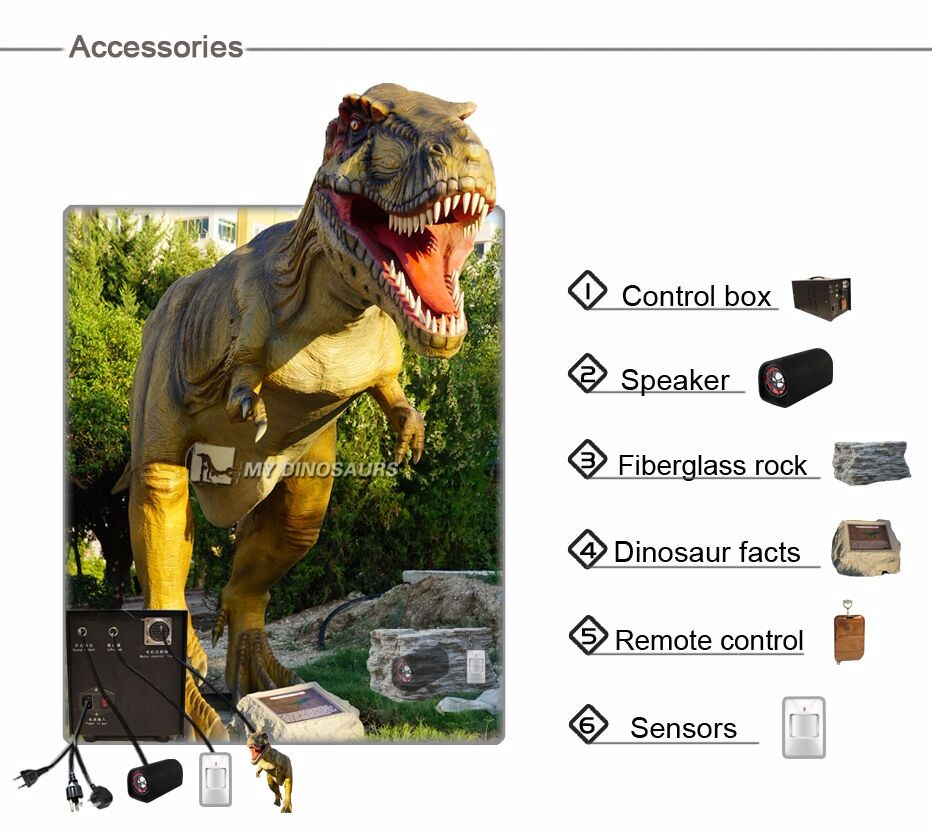 My Dino-AD238 Jurassic World Dinosaur Figures Silicon Rubber Dinosaur Scale Models