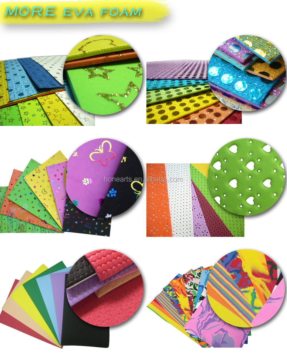 Goma Eva Foam Craft Form Children's Handworking - Buy Goma Eva ...