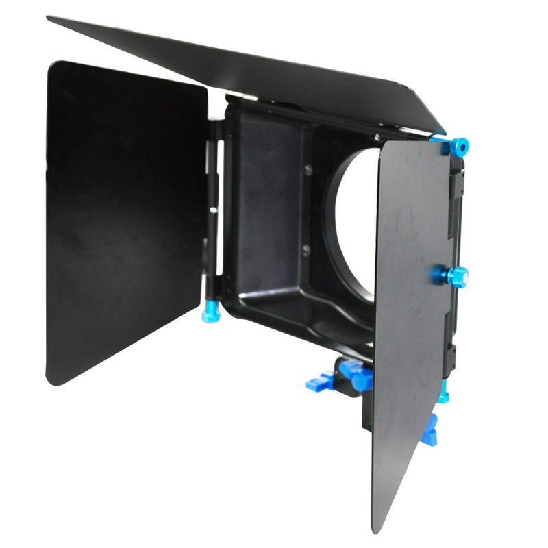 YELANGU 15mm Rod Support Rig Sunshade Swing-Away DSLR Camera Matte Box
