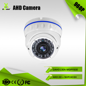 OAHD130A-MDPFB30 960P 1.3megapixel 30m IR distance Manual Zoom Vandalproof home surveillance camera reviews dome ahd cameras
