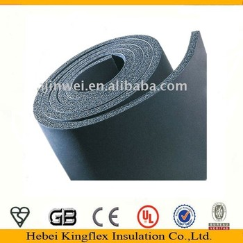 Building Hvac System Wrap Duct Closed Cell Rubber Sheet