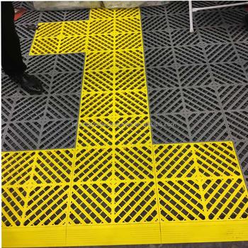 Vinyl Floor Mats >> Waterproof Pure Pvc Interlocking Vinyl Floor Tiles For Indoor Garage