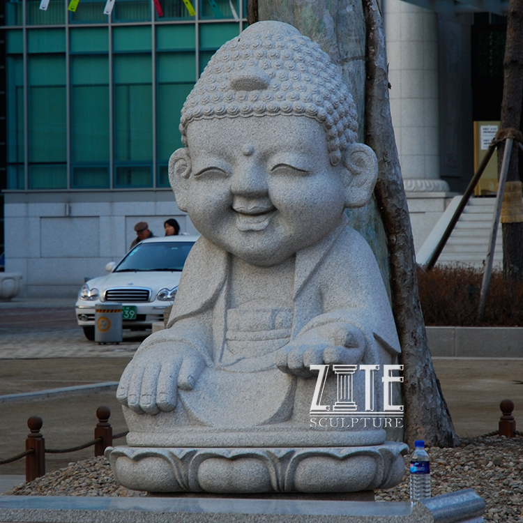 Hot Sale Granite Stone Baby Buddha Statue