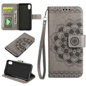 Hot Seller Wallet Card Holder Leather Shell for iPhone X Case Cover