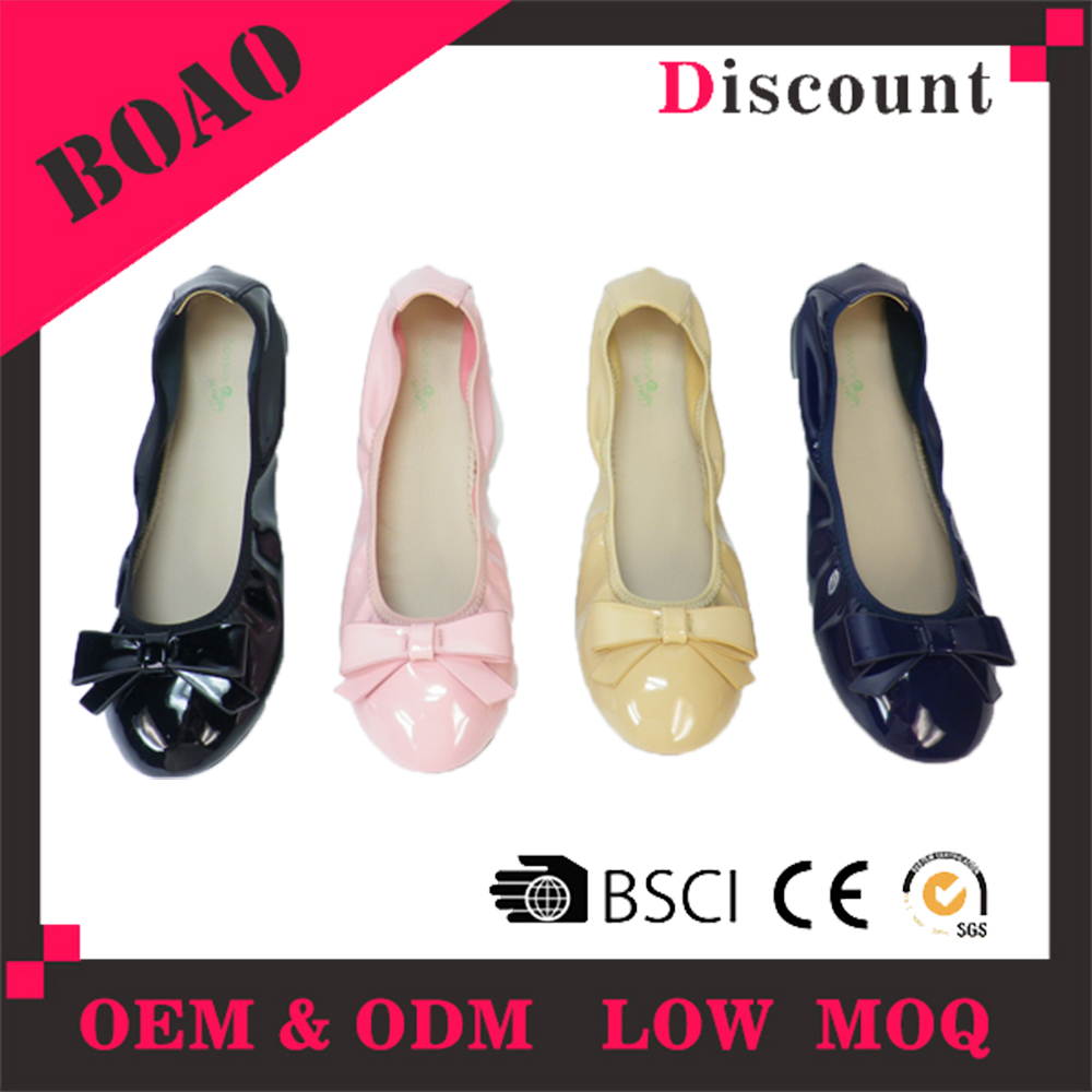 China manufacturer ladies beautiful women multi colored flat shoes
