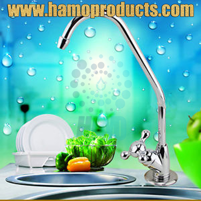 Household Water Purifier Gooseneck Rotating-switch Water Tap/Faucet