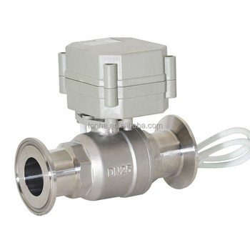 Dn25 Electric Stainless Steel Tri Clamp Ball Valve (t25-s2-a-q) - Buy Tri  Clamp Ball Valve,Stainless Steel Clamp Valve,Stainless Steel Ball Valve