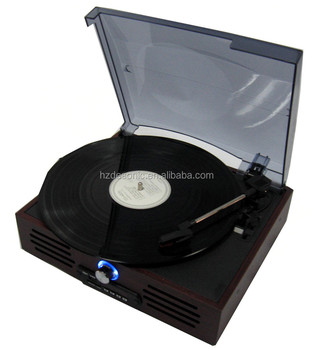 High End Quality Turntable Gramophone With Decorative Vinyl Records - Buy  Decorative Vinyl Records,Turntable Gramophone,Vinyl Records To Decorate