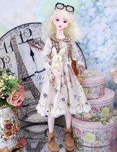 Fortune дней 1/3 bjd куклы 62 см Совместное тела белая кожа с одежды обуви, AI YoSD MSD SD комплект игрушка подарок ребенку DC Lati(Китай)