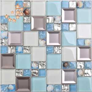 HD24 Wall decoration tile mosaic mirror stainless steel mosaic