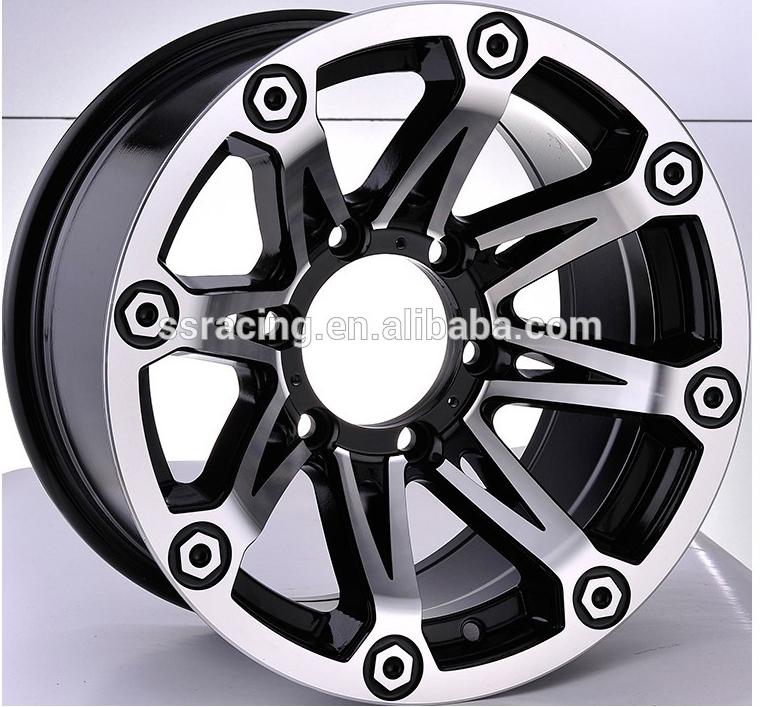 China Oem Wheels Sae J2530 Standard With Black Machine