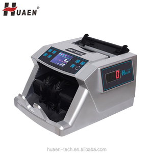 TFT display best quality attractive price dollar note counting machine with counterfeit detect