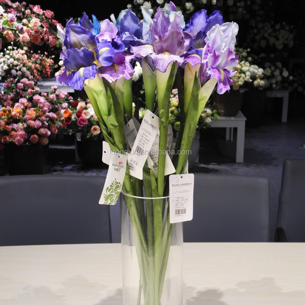 Artificial iris flower silk flowers artificial iris flower silk artificial iris flower silk flowers artificial iris flower silk flowers suppliers and manufacturers at alibaba dhlflorist Choice Image