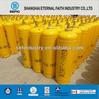 2015 ISO 5L Steel Acetylene Cylinder Popular in Europe