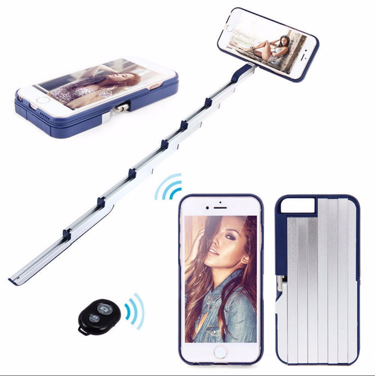 2016 new products sunqt stikbox bluetooth selfie stick phone case for iphone66s77plus buy. Black Bedroom Furniture Sets. Home Design Ideas