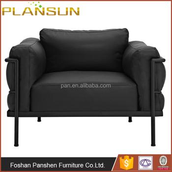Iconic Design Living Room Furniture Cooper Le Corbusier Replica Lc3 ...