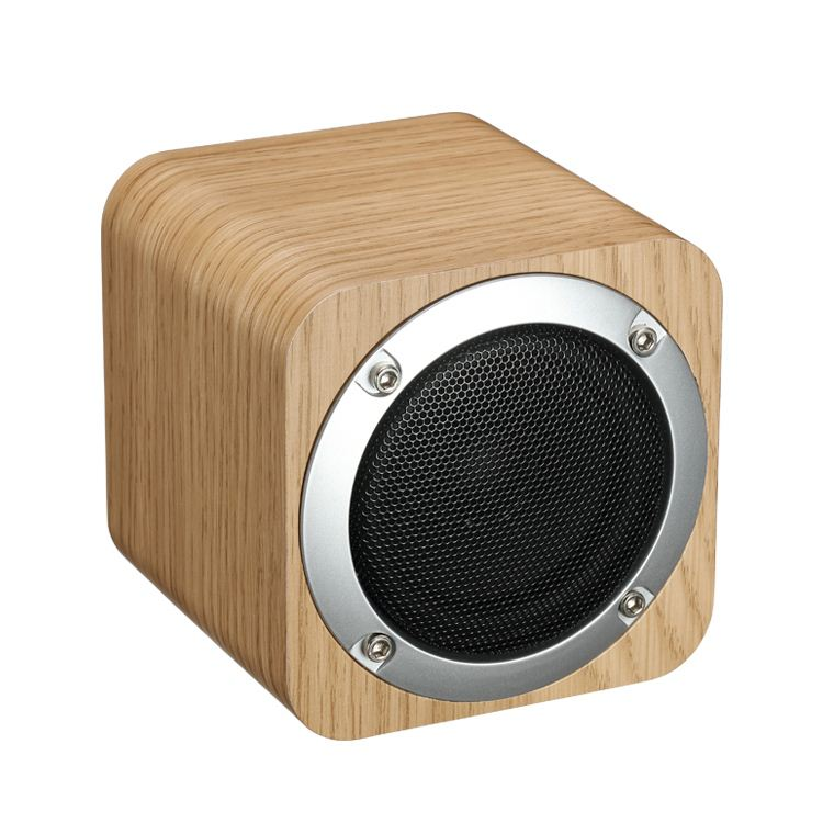 2017 most fashionable bluetooth mini <strong>speaker</strong> with wooden appearance