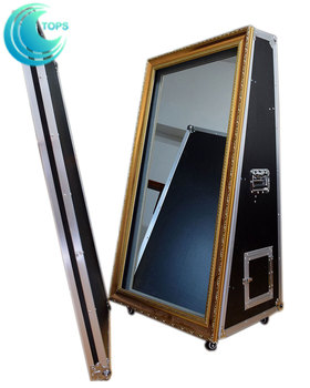 mirror photo booth for sale. 2017 hot selling magic mirror me photobooth with 10 infrared touch points frame for sale photo booth