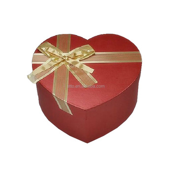 Valentine Gift Boxes For Chocolate Heart Shape Box With Ribbon Buy
