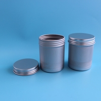 High quality new arrival 60g Aluminum round canister tin wholesale