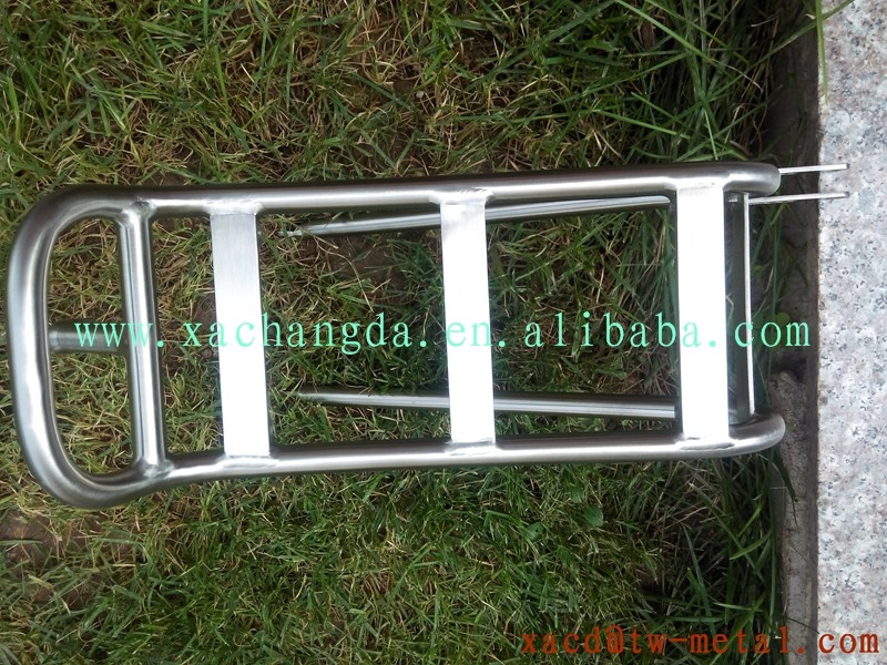 Custom Titanium Bicycle Rear Rack Capacity 25kg XACD luggage rack bike parts fit MTB bike or road bike rear rack