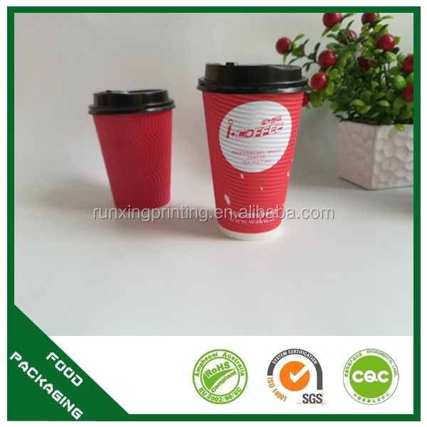 eco-friendly custom printed brown paper cup