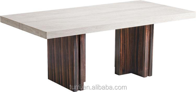 Modern Marble Dining Room Table Wood Base Dining Table Buy