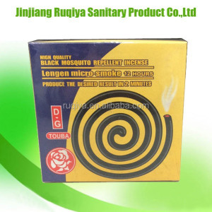 black mosquito repellent incense micro smoke mosquito coil manufacturer