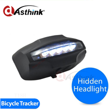 LED working on automatically with motion spy mini realtime gps gsm gprs tracker Bright LED bicycle Tracker Exported to Worldwide