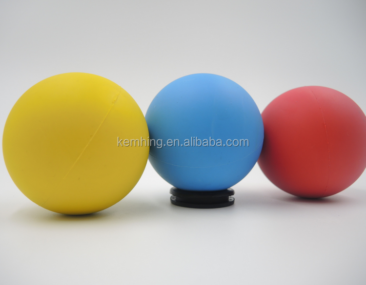 Natural Rubber Yoga Massage Single Therapy Ball