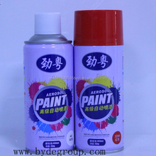 115g net weight 400ml tin-can packed JINYUE ceramic surface painting purpose multi color aerosol spray paint