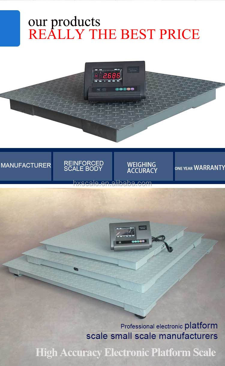 Electronic 3ton Weighing Digital Scale 10000kg 200kg