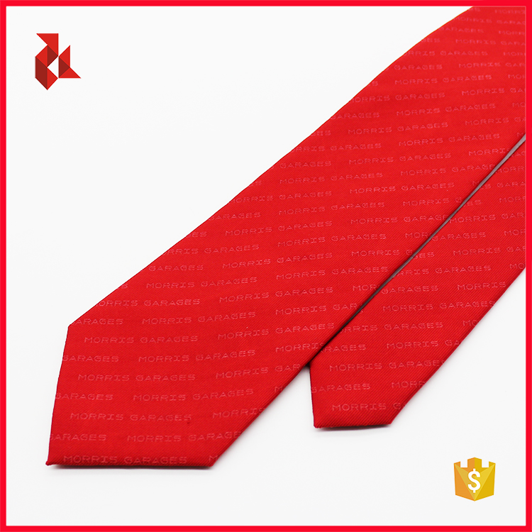 Fashion Mens Polyester Club Ties Logo Necktie