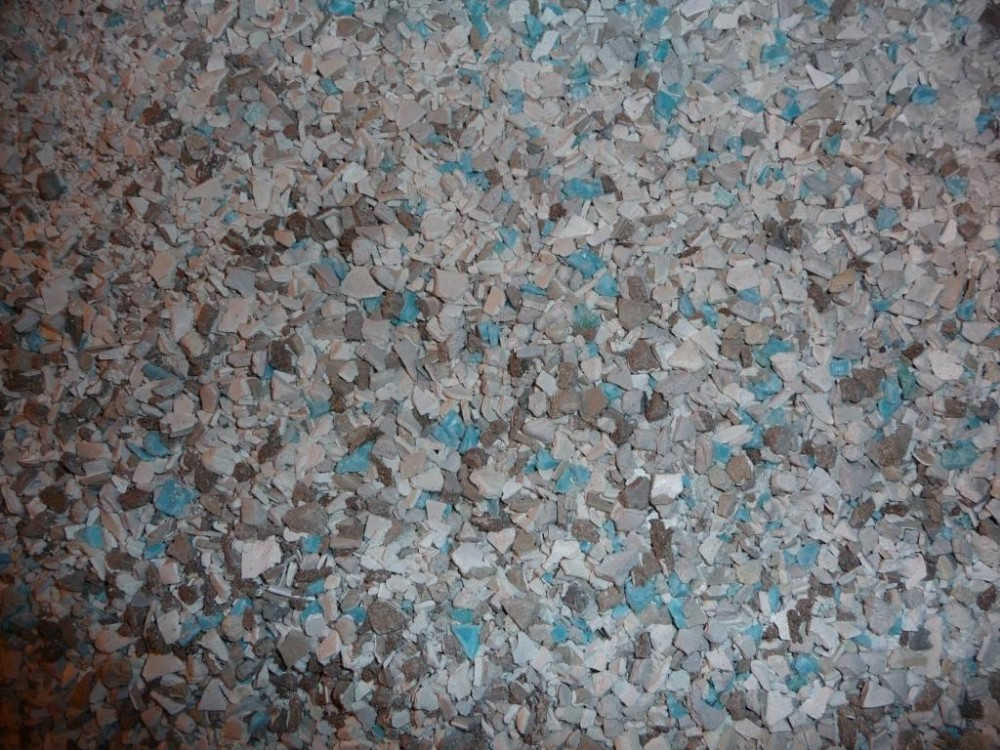 BHN2015D30 PVC Scrap regrind ex Plastic scrap boxes 150 MT shredded plastic scrap recycling