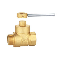 "1/2"" ball valve lead free brass compression fitting"