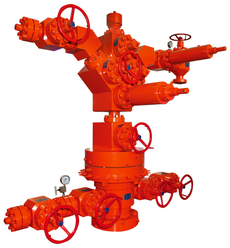 Api 6a Oil Well Head And Christmas Tree For Oil Production Equipment - Buy Oil Well Head And ...