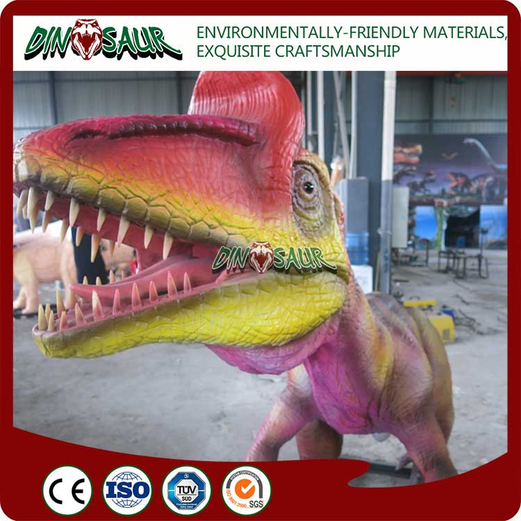 Water park decorative dynamic dinosaur 3d model