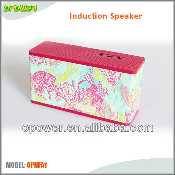 2013 new design induction pocket boombox with touch control key