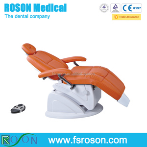 Fold dental chair with leather, ENT chair with leather cushion