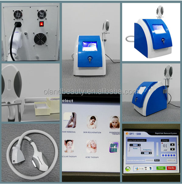 CE marked spa Germany lamp hair removal ipl shr /beauty salon machine ipl shr laser machine