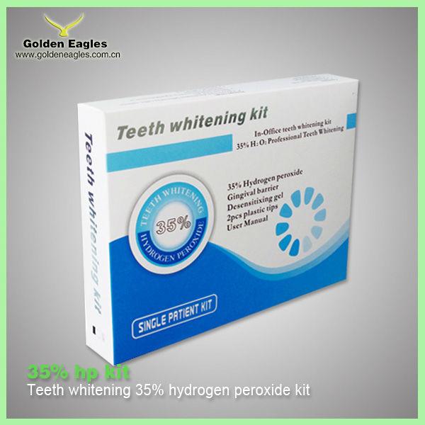 kit de blanchiment des dents avec peroxyde
