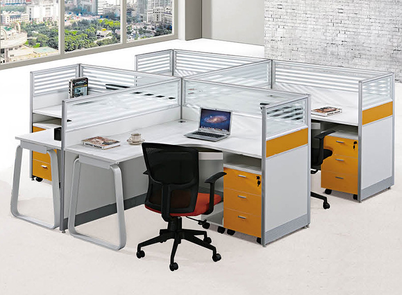 Modern Furniture Open Office Desk Designs 4 Person Modular Cubicles Glass  Office Partitions   Buy Office Desk Partition Glass Partitions,Glass Office  ...